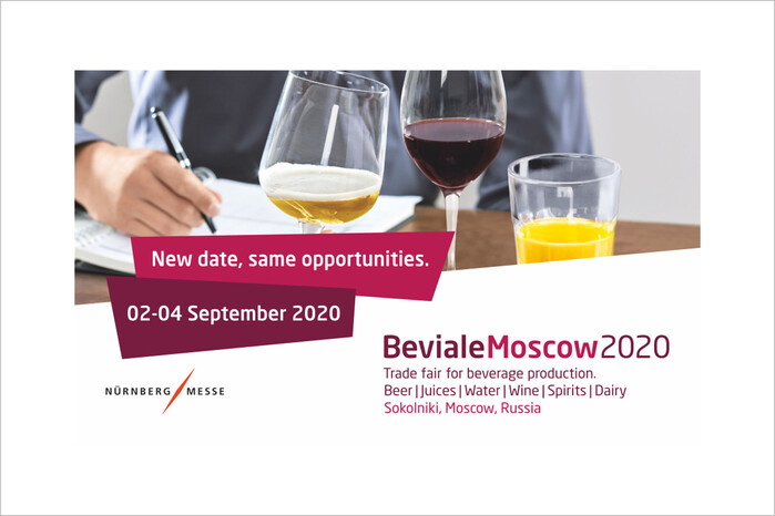 Beviale Moscow 2020: Postponement and new date