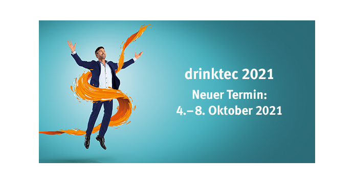 New date: drinktec 2021 set for October