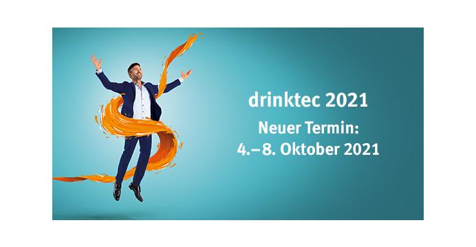 Neuer Termin: drinktec 2021 findet im Oktober statt