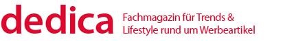 dedica, Fachmagazin für Trends & Lifestyle rund um Werbemittel