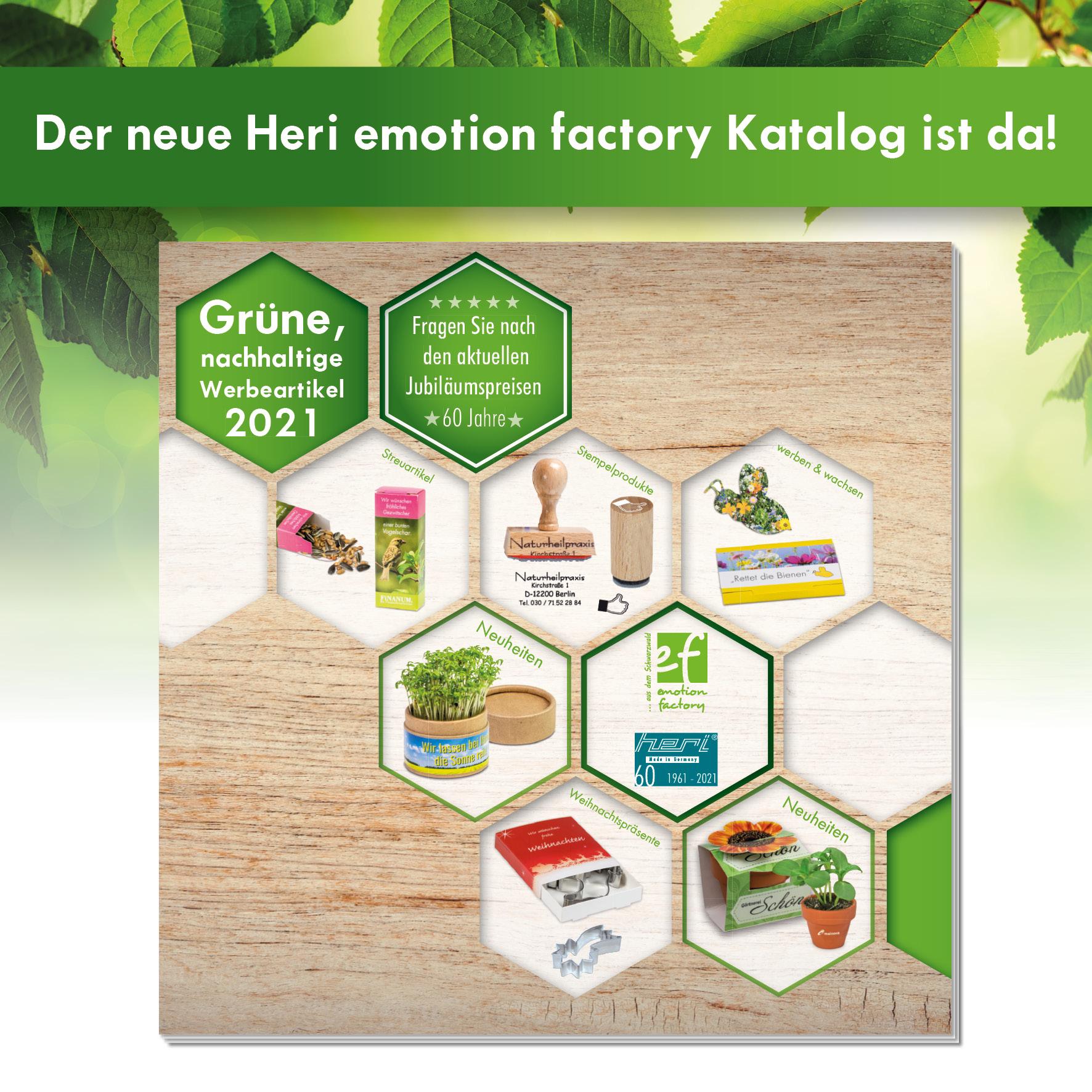 Heri und emotion factory präsentieren Katalog 2021