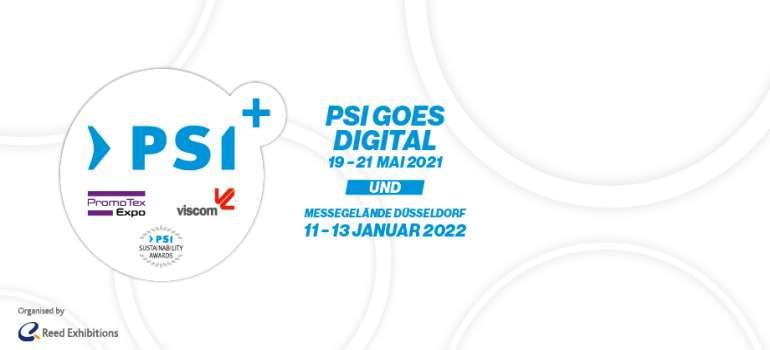 PSI, PromoTex Expo und viscom 2021 finden online statt