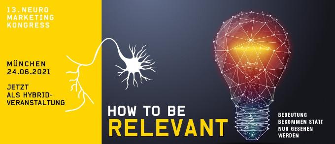 HOW TO BE RELEVANT – Bedeutung bekommen statt nur gesehen werden