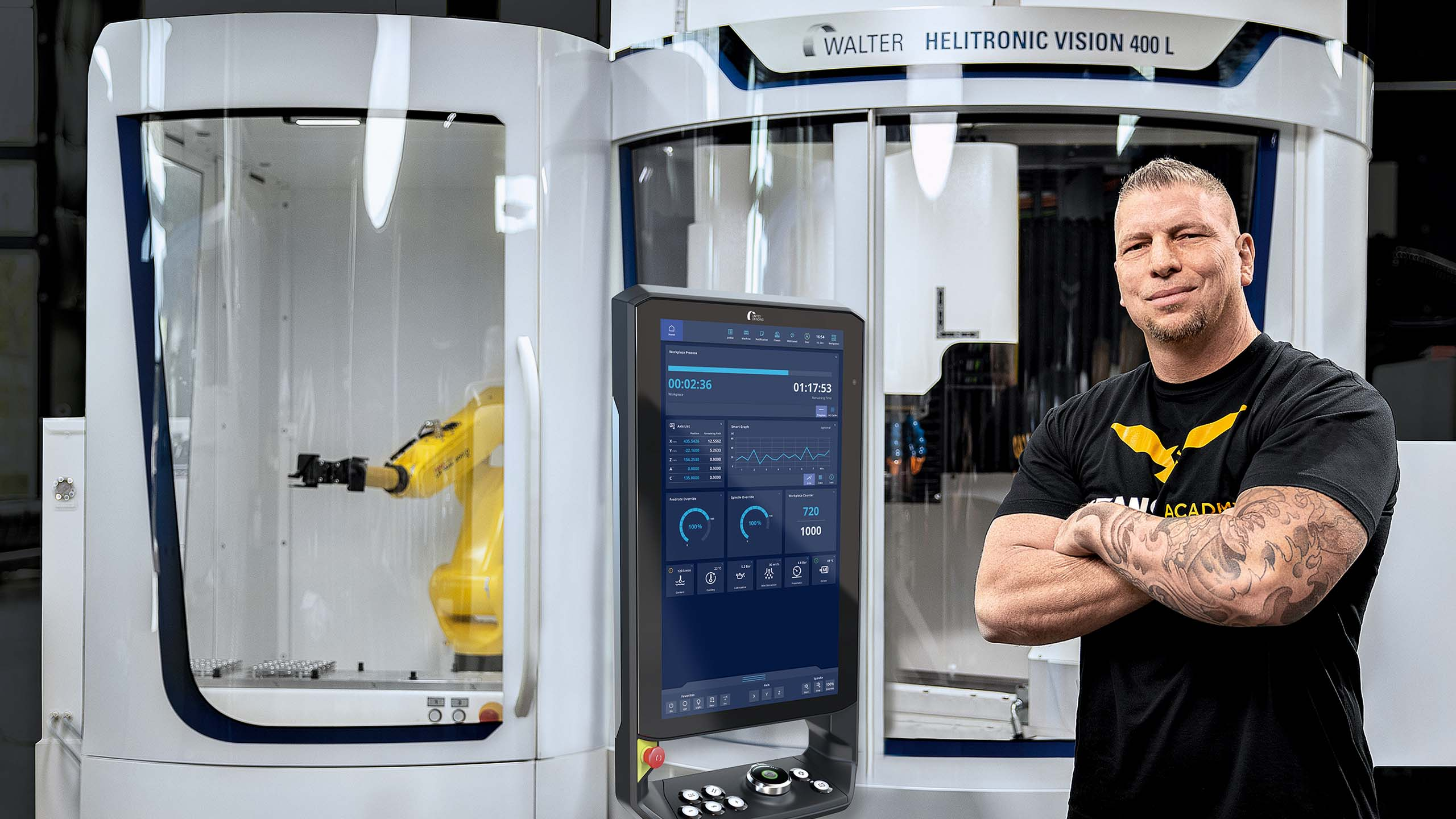 Partnerschaft mit TITANS of CNC zur Ausbildung in der Fertigung