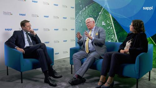 Innovationsgespräche auf der blauen Couch