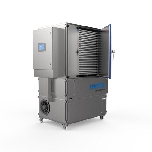 Kompakttrockner für Produktentwicklung und Labortechnologie