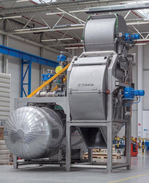 Hohe Erträge, geringer Energieverbrauch: Der Eco-Dampfschäfer von TOMRA FOOD perfektioniert die Produktion von Kartoffelprodukten