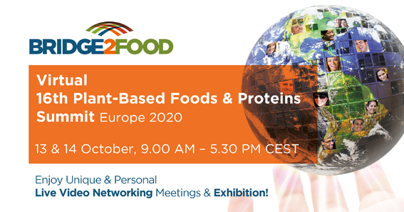 Virtual 16th Plant-Based Foods & Proteins Networking Summit & Exhibition!