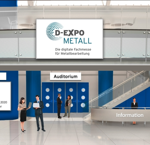 The digital trade fair for metal working
