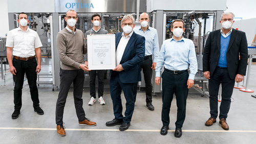 OPTIMA EGS wird mit International FoodTec Award ausgezeichnet
